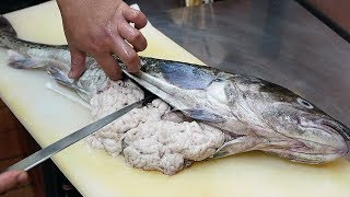 Japanese Street Food - COD FISH SPERM Seafood Okinawa Japan