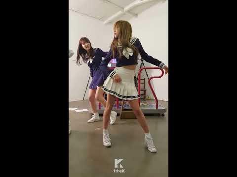 IDOL ARCADE(대기실 옆 오락실): WJSN(우주소녀)비하인드 영상! _ 대기실에서 흥 붐붐(feat. 피땀눈물-붐붐-Love Me Do Cover)
