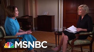 Speaker Nancy Pelosi: Rep. Justin Amash's Voice Speaks To GOP Silence | Morning Joe | MSNBC