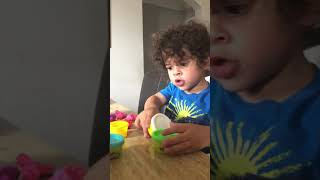 Landon and Play-Doh 8/19/18- 2 1/2 years old