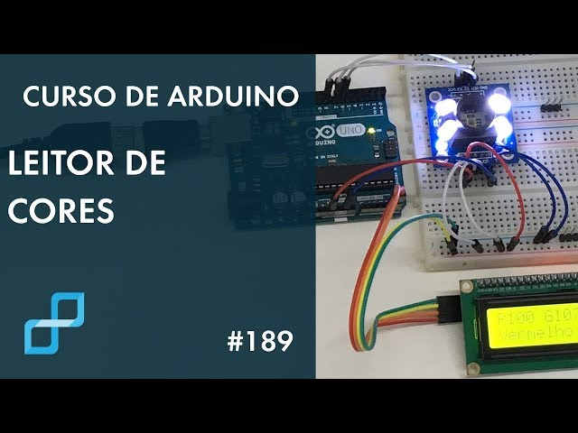 LEITOR DE CORES | Curso de Arduino #189