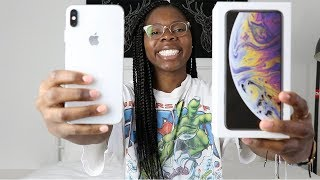 APPLE iPHONE XS MAX UNBOXING + FIRST IMPRESSION