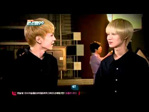 lllO27 So CUTE!! Taemin & Key NG cut @M00N N!GHT 9O