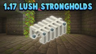 Lush Strongholds & Diamond Fossils - New 1.17 Features