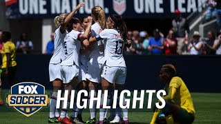 90 in 90: United States vs. South Africa | Women's International Friendly Highlights