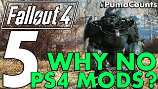 5 Reasons why PS4 Console Mods haven't been released yet for Fallout 4 #PumaCounts