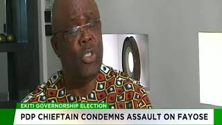 PDP chieftain condemns assault on Fayose