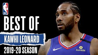 Kawhi Leonard's BEST Plays   2019-20 Season