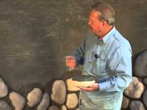 Cultured Stone River Rock Fire Wall Amp Hearth Youtube
