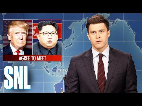 Weekend Update on Kim Jong-un Meeting with Donald Trump - SNL