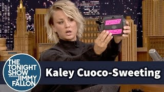 Kaley Cuoco-Sweeting Takes Polaroid Selfies