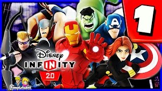 Disney Infinity 2.0 Walkthrough Part 1 (Cold Opening) The Avengers Playset