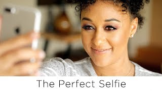 Tia Mowry's Top 5 Best Selfie Tips | Quick Fix