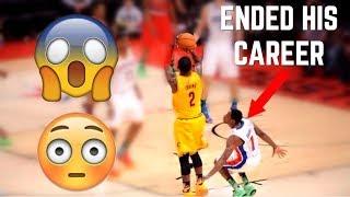 "NBA ""CAREER ENDING"" Plays ᴴᴰ"