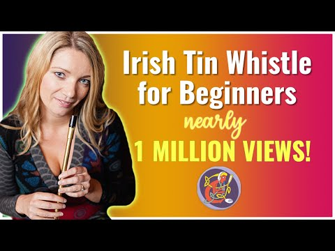Beginner Irish Tin Whistle Free Lesson No.1 of 6: Hand and Finger positioning - D maj Scale