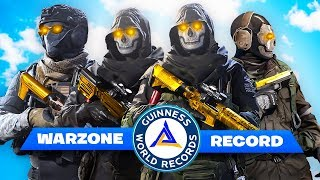 141 KILLS SQUAD WARZONE ! (World Record)