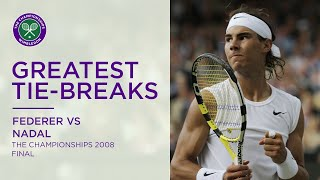 Greatest tie-breaks: Rafael Nadal vs Roger Federer | Wimbledon Retro