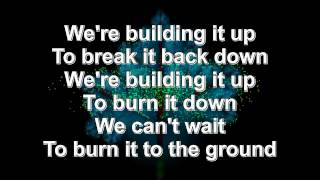 Burn It Down- Linkin Park (Lyrics) HD