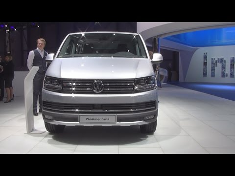 Volkswagen Transporter T6 Multivan PanAmericana 2.0 TDI 4MOTION (2016) Exterior and Interior in 3D