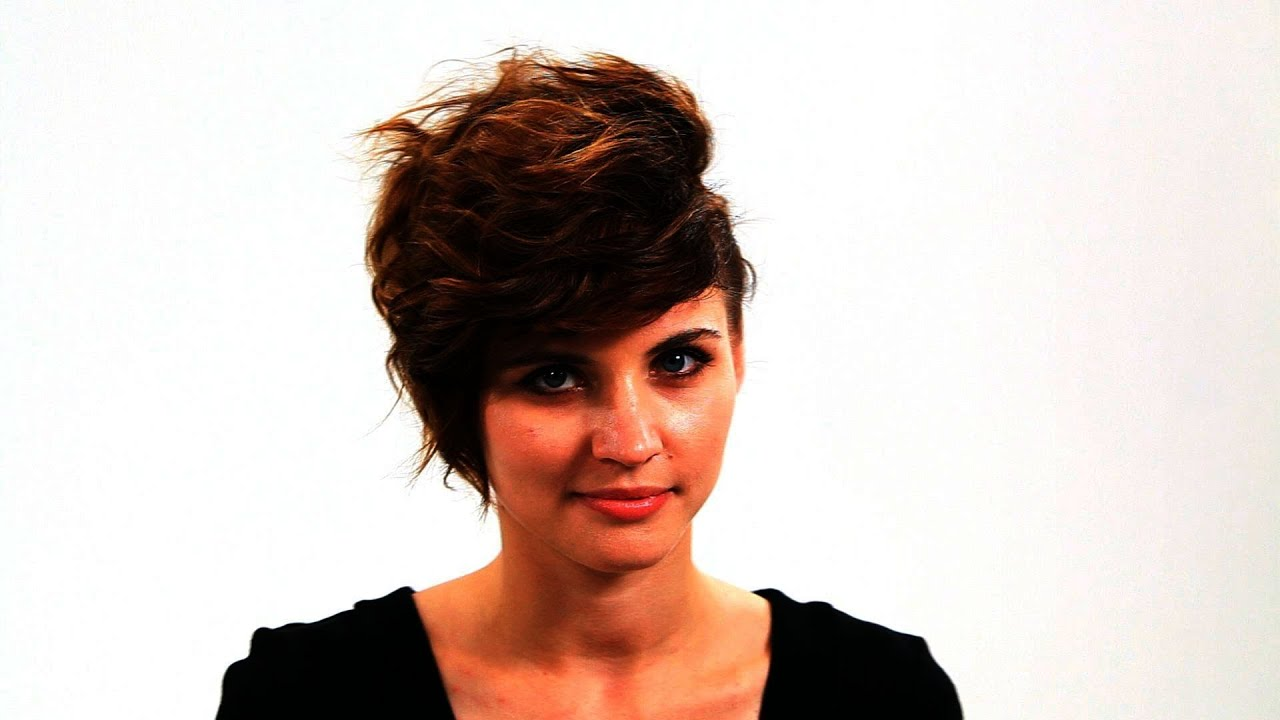 Short Hairstyles - YouTube