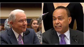 Attorney General Jeff Sessions DESTROYS LEFTIST Rep.Gutierrez on the CLINTON Investigation