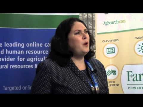 Caroline Emond at the 2015 Advancing Women in Agriculture Conference