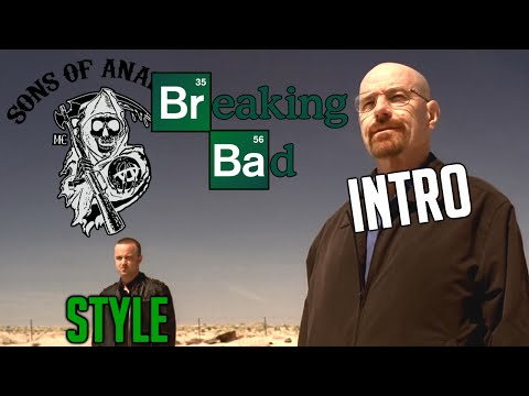 breaking bad intro sons of anarchy style youtube. Black Bedroom Furniture Sets. Home Design Ideas
