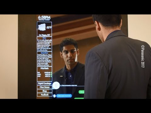 Digital Concierge - Advanced Smart Mirror with IBM Watson