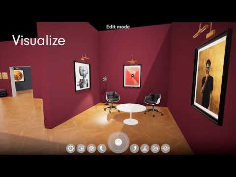 Curate Virtual Exhibition