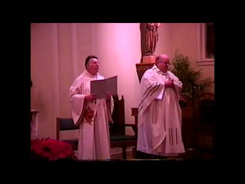 St. Patrick's Christmas Eve Mass  12-24-02