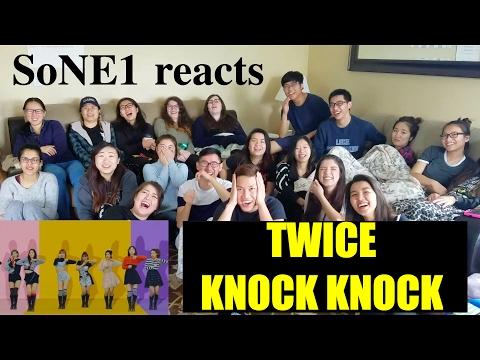 TWICE (트와이스) - KNOCK KNOCK M/V Reaction by SoNE1