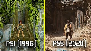 Evolution of Video Game Graphics | PS1 - PS5 | 1996 - 2020