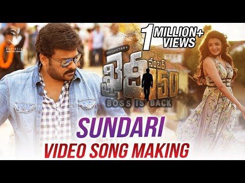 Khaidi-No-150-Movie-Sundari-Video-Song-Making