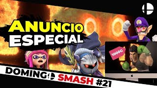¡AVISO IMPORTANTE! MÁS DECLARACIONES, DETALLES INGENIOSOS | Smash Bros Ultimate Domingo Smash #21