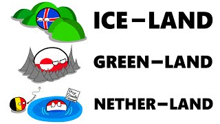 Names Can Be Deceiving... (Countryball Memes)