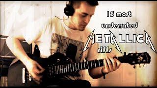 15 most UNDERRATED Metallica riffs medley