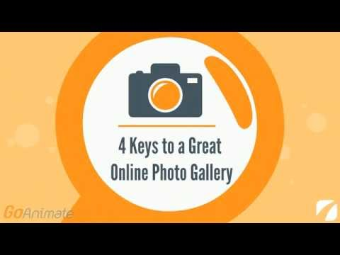 4 Keys to a Great Online Photo Gallery