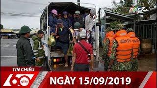 60 Giây Chiều - Ngày 15/09/2019 - HTV Tin Tức Mới Nhất