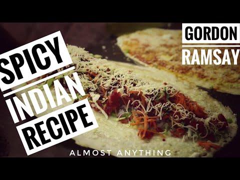 Gordon Ramsay Stunning Indian Street Food Recipes garm egg burger, Popcorn, Tostadas Almost Anything