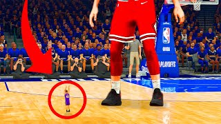 I Made A 1 INCH Player In NBA 2K21...