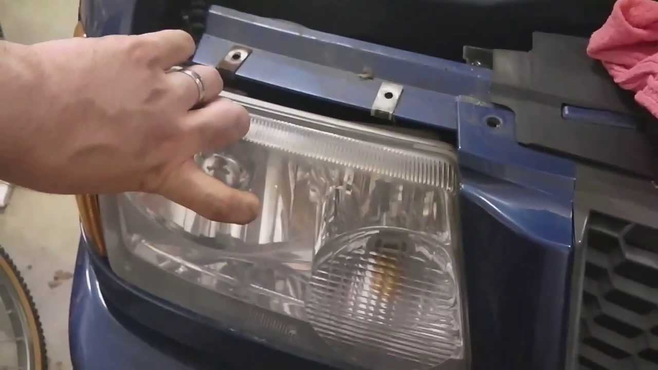 2001 2010 Ford Ranger Replace Headlight Bulbs Mazda B