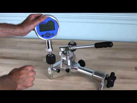 Additel 914 & 916 Pneumatic Pressure Test Pumps