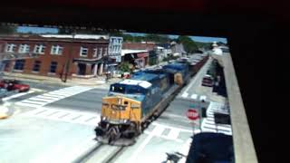 Camfanning 10: La Grange, KY with Ballast Train and MOW