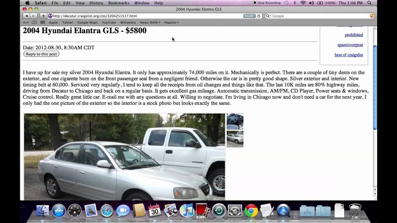 Craigslist Decatur Illinois Used Cars