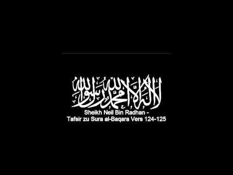 Und (gedenkt,) als Ibrahim von seinem Herrn mit Worten geprüft wurde, da befolgte er sie.