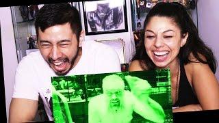 Honest Trailer Jurassic World reaction by Jaby & Tania!