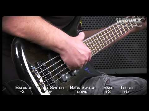 Warwick Sound Examples: The Corvette $$ 5-String