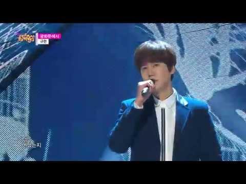 [HOT] KYUHYUN - At Gwanghwamun, 규현 - 광화문에서, Show Music core 20141213