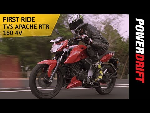 TVS Apache RTR 160 4V : 6 Things you should know about it : PowerDrift