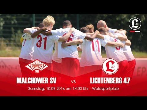 Malchower SV -  SV Lichtenberg 47 (NOFV-Oberliga Nord) - Spielszenen | SPREEKICK.TV